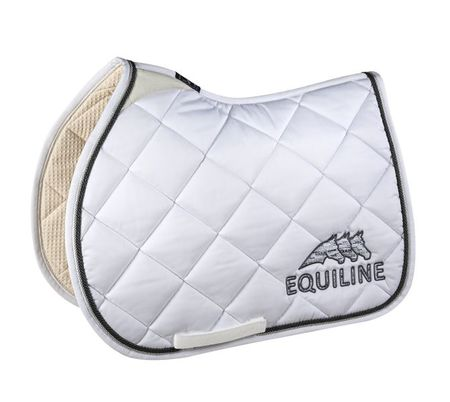 Equiline Rombo Saddle Cloth + Ohren black